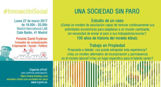 Invitación_Una Sociedad sin paro_27 marzo 2017